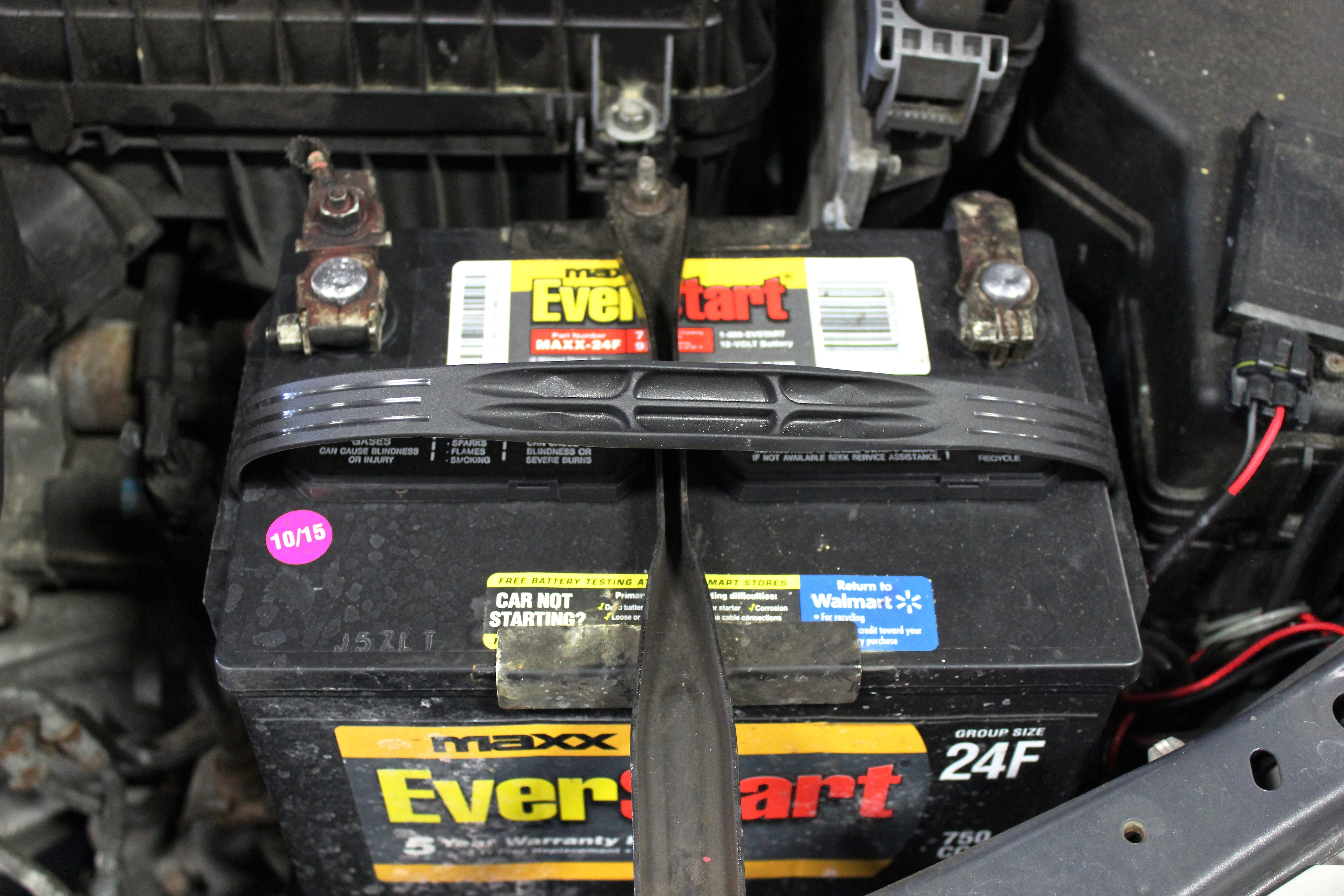 Where is the battery in a car - Car Battery