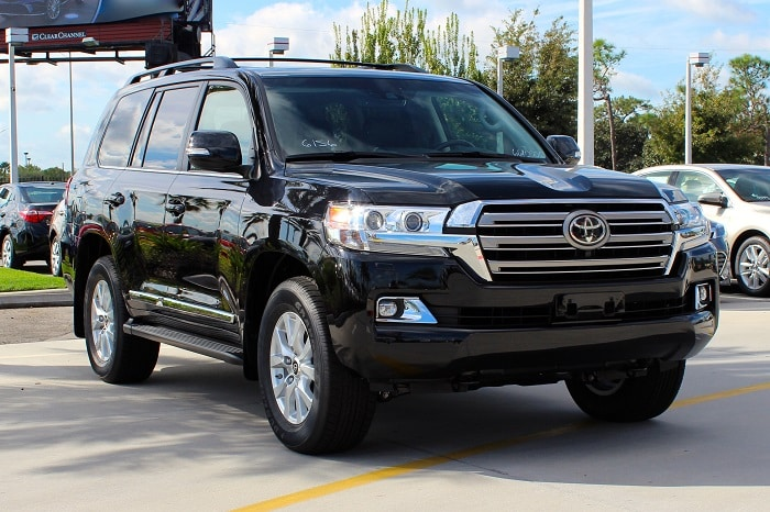 2016 Toyota Land Cruiser deals