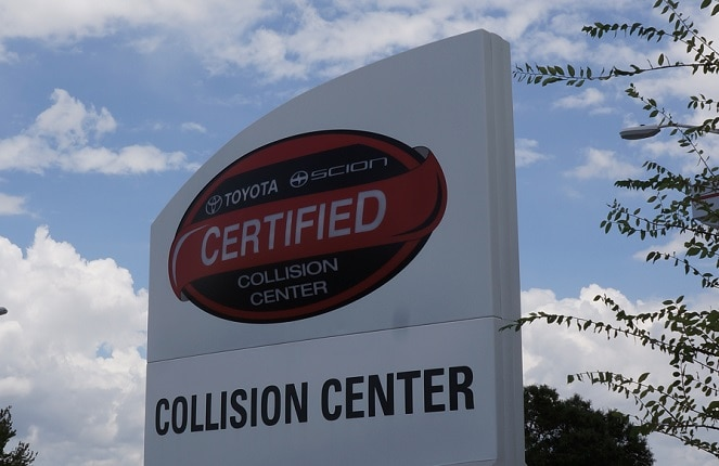 Toyota Collision Center in NC
