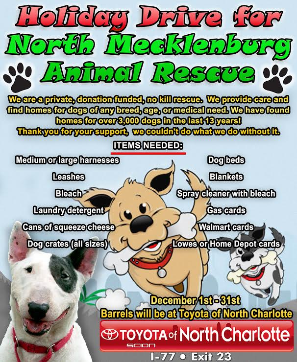 North Mecklenburg Animal Rescue