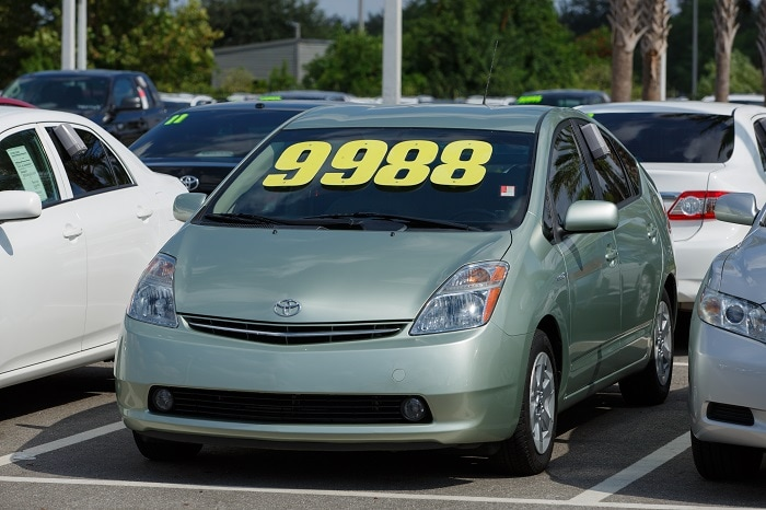 used hybrid car for sale
