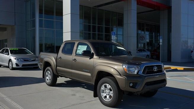 New Toyota Tacoma near Charlotte