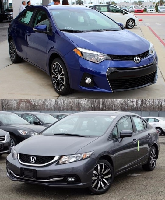 2015 Toyota Corolla vs Honda Civic