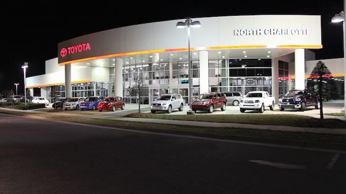 New Toyota dealership near Charlotte