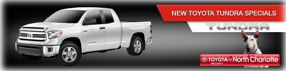 New Toyota Tundra in N Charlotte