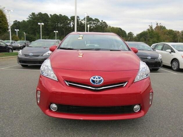 new Toyota Prius v near Charlotte