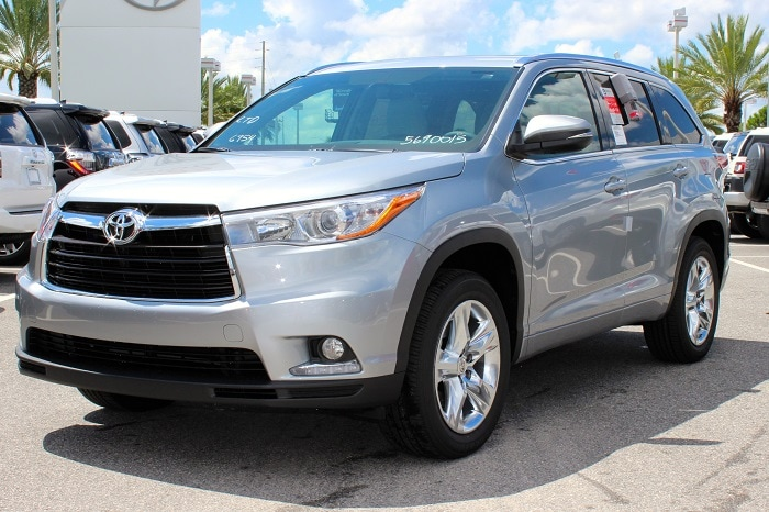 2016 Toyota Highlander for sale