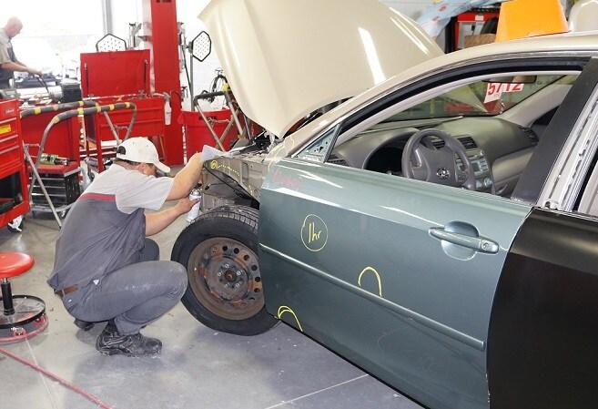 Charlotte auto body shop