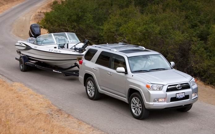 Toyota towing tips