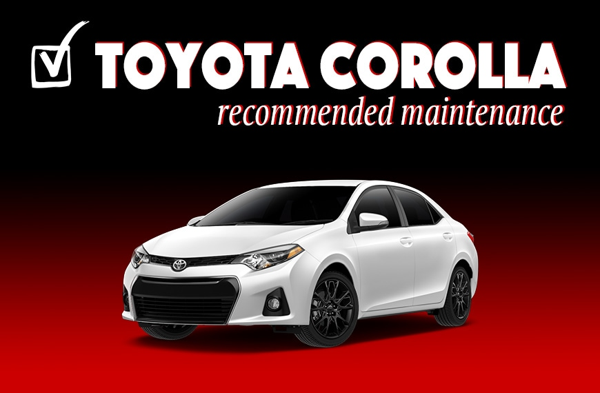 N Charlotte Toyota recommended maintenance