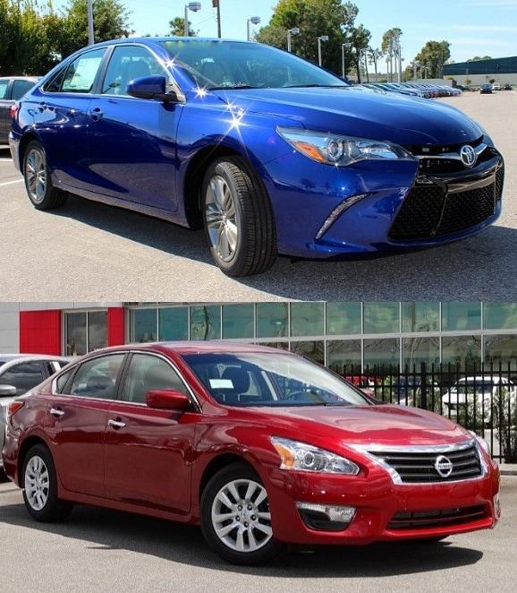 2015 Toyota Camry vs Nissan Altima