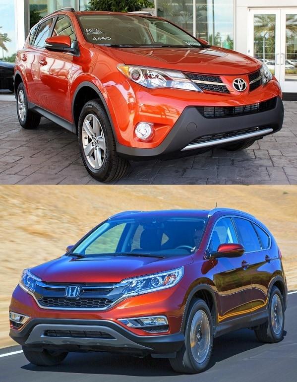 2015 Toyota RAV4 vs Honda CR-V