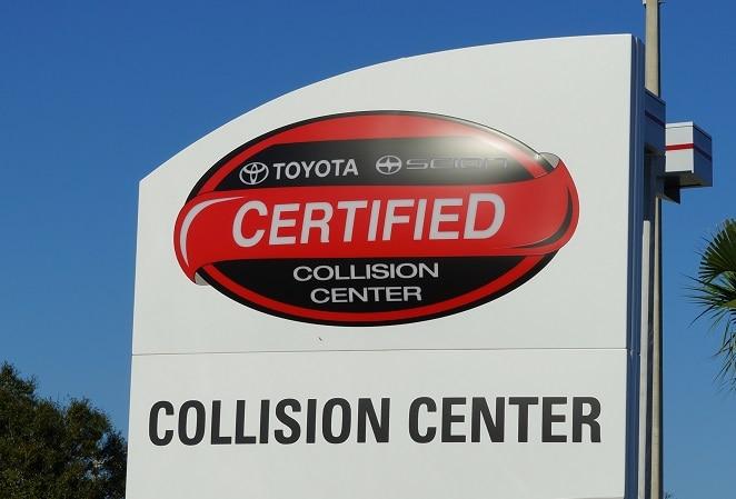 Toyota Collision Center in Charlotte