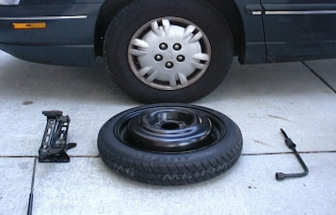Car tires in NC