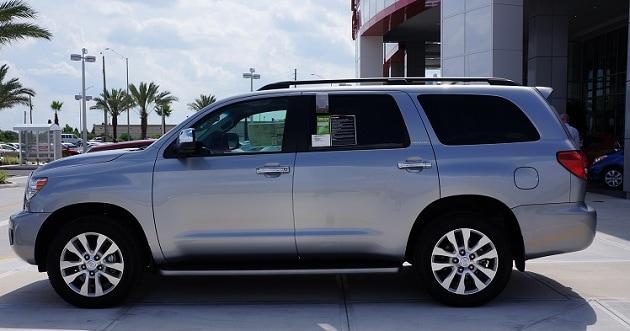 Toyota Sequoia for sale near Charlotte