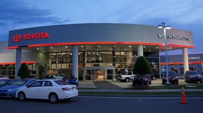 new Toyota in N Charlotte