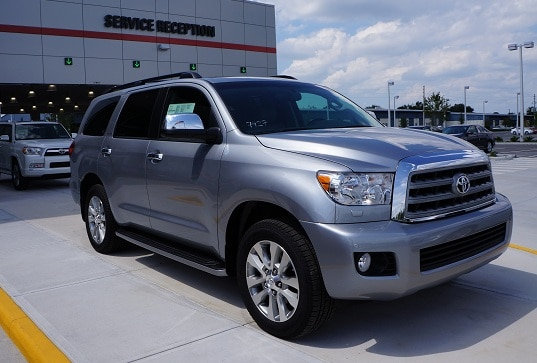 New Toyota Sequoia in N Charlotte
