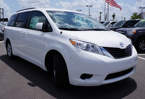 New Toyota Sienna for sale NC