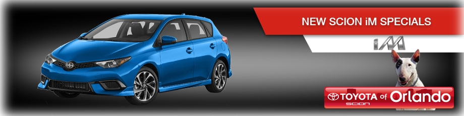 Orlando Scion iM specials