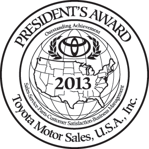 Toyota of Orlando award