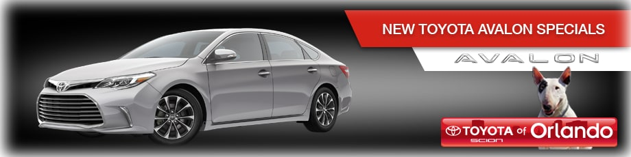 Orlando Toyota Avalon Specials