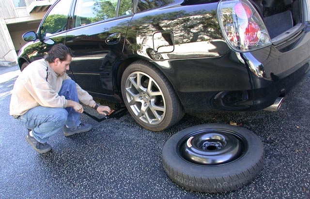 Orlando Toyota flat tire tips