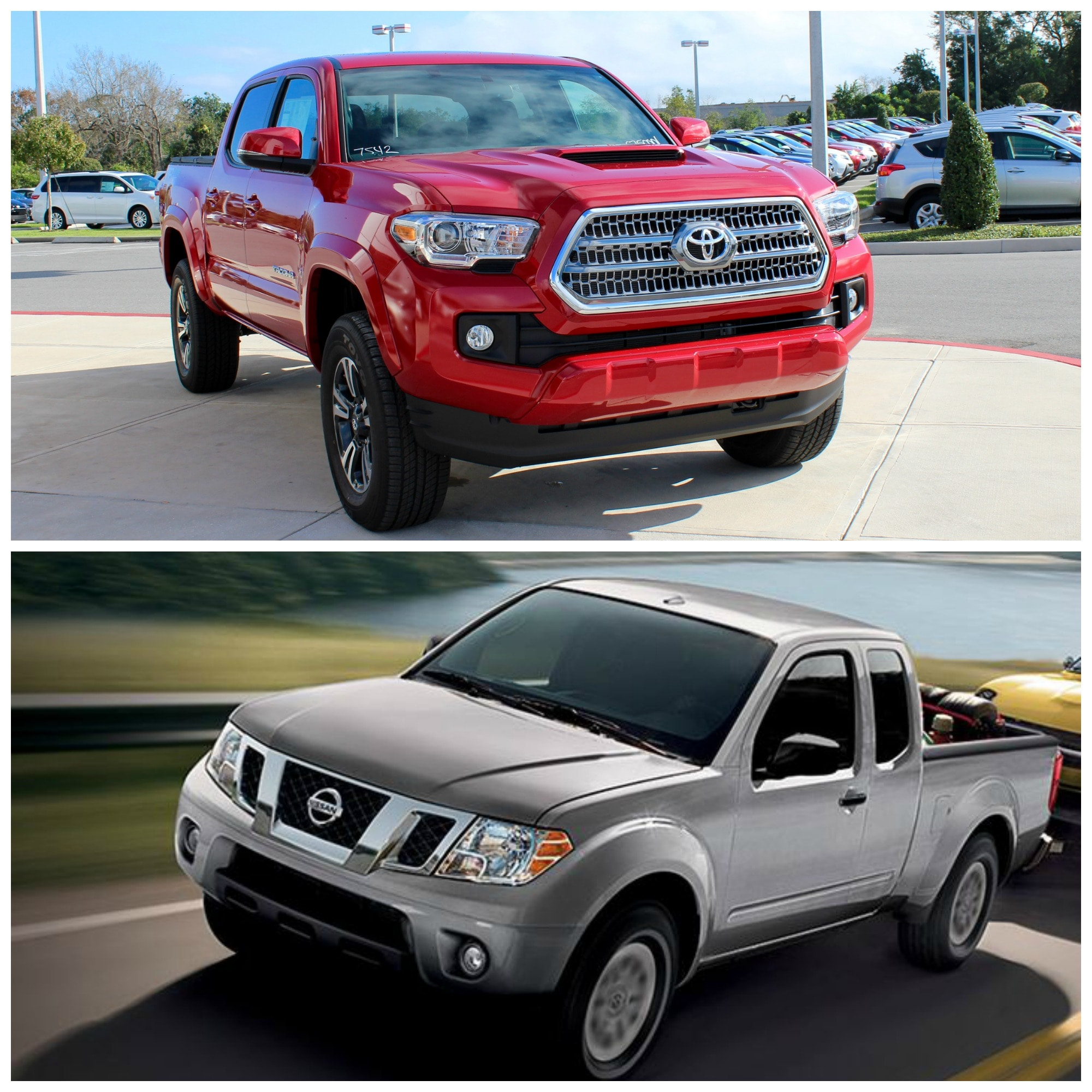 2016 Nissan Frontier King Cab Camshaft: 2016 Toyota Tacoma Vs Nissan Frontier