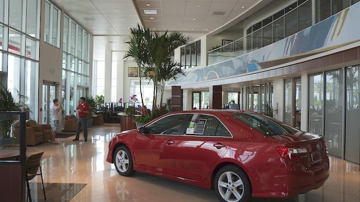 New Toyota dealer in Orlando