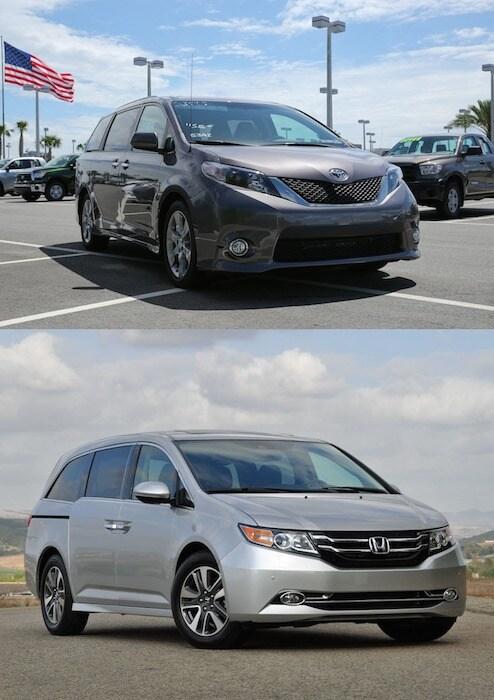 New Toyota vs new Honda