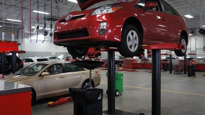 Toyota Service Center in Orlando