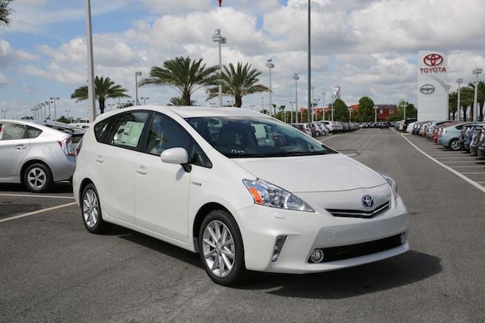 2014 Toyota Prius v in Orlando