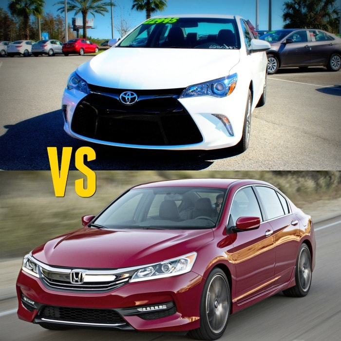 Toyota Camry car comparison
