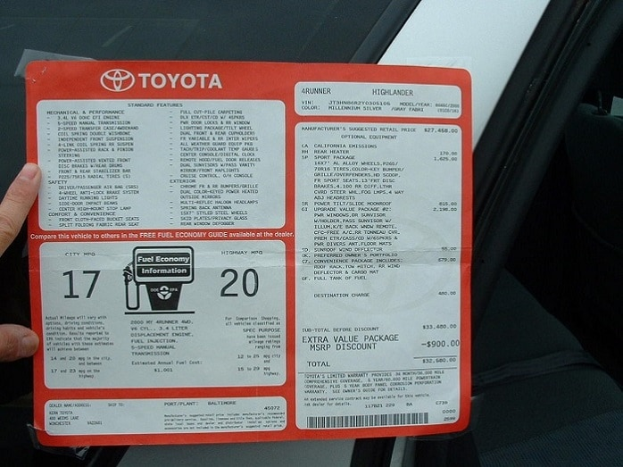 New Toyota shopping tips