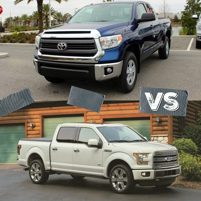 Toyota Tundra vs Ford F-150