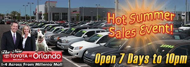 Hot Summer Sales Event in Central Florida