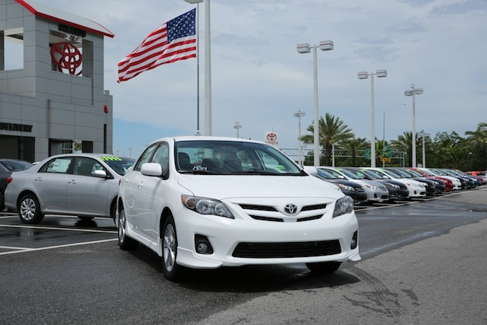 New Toyota Corolla in Orlando