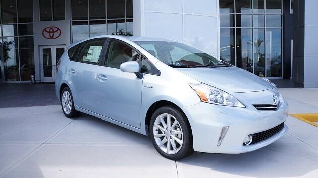 2012 Toyota Prius v in Orlando