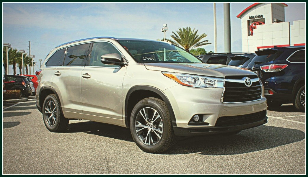 new Toyota SUVs for sale