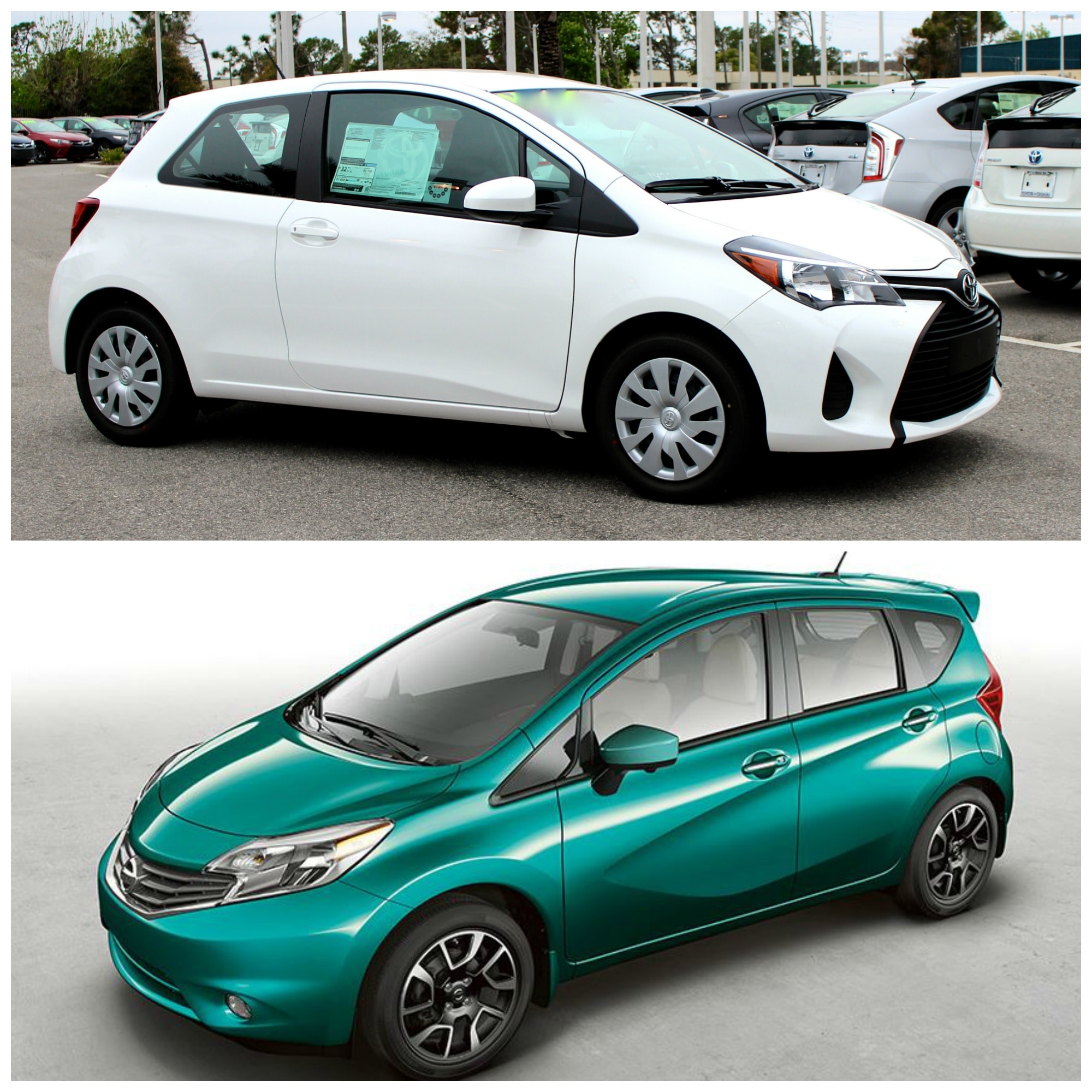 Ford Dealers In Orlando: 2016 Toyota Yaris Vs Nissan Versa