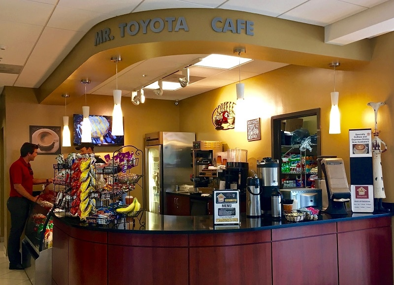 Toyota of Orlando cafe