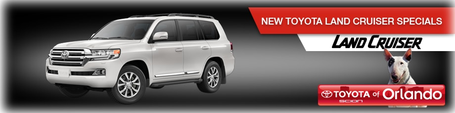 Orlando Toyota Land Cruiser specials