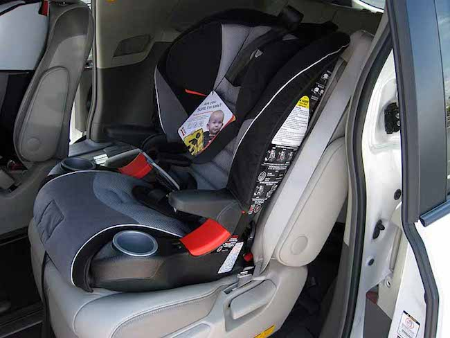 New Toyota car seat tips