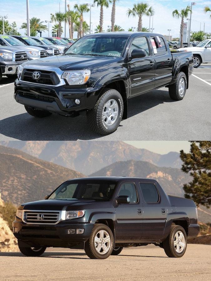 Orlando Toyota Tacoma vs Honda Ridgeline