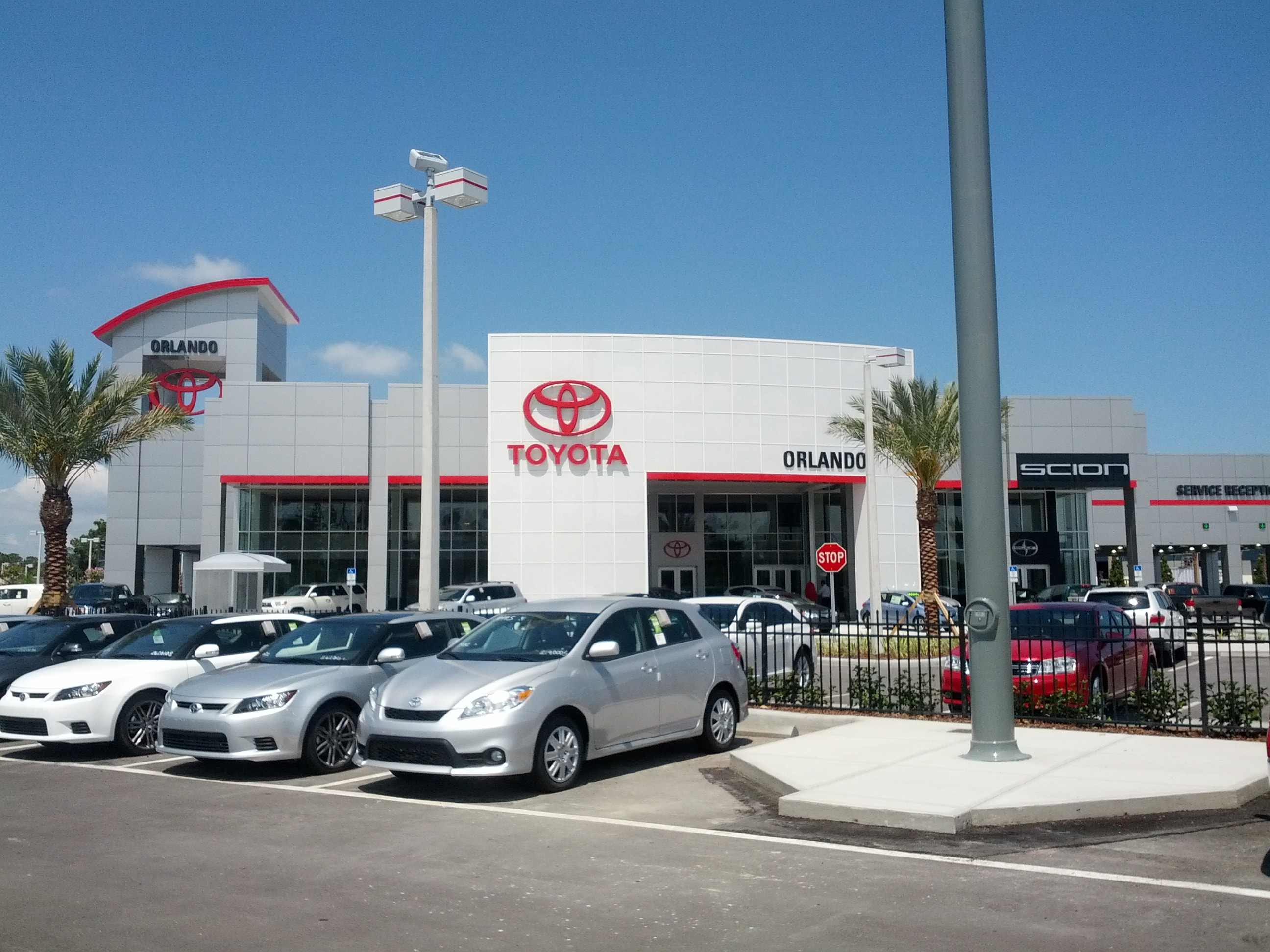 New Toyota of Orlando Location