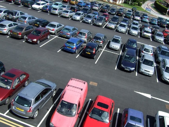 Toyota of Orlando parking tips