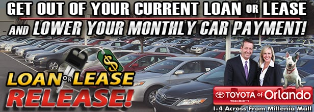 Toyota of Orlando Loan or Lease Release Event