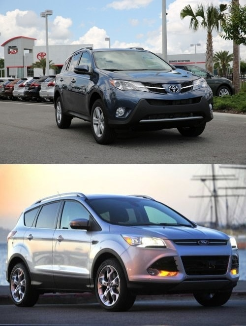 Toyota RAV4 vs Ford Escape