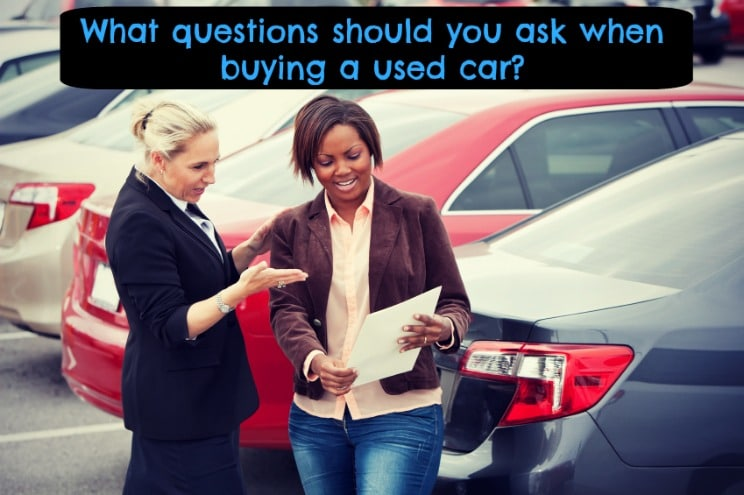 Used car shopping