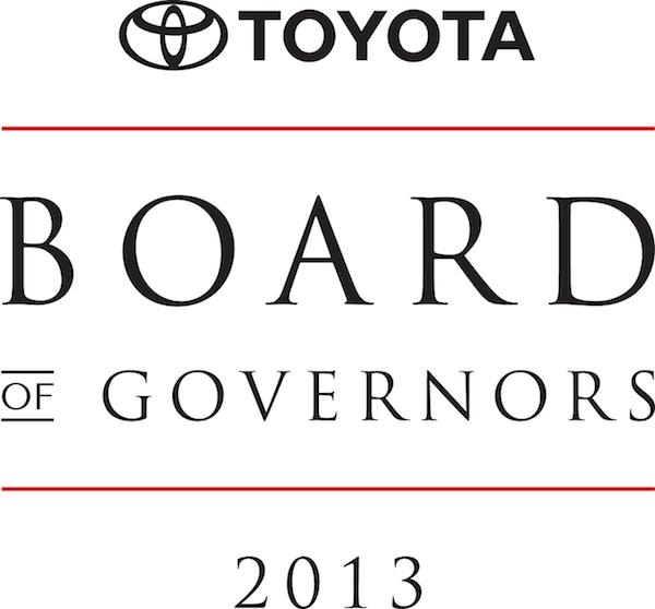 Toyota Awards
