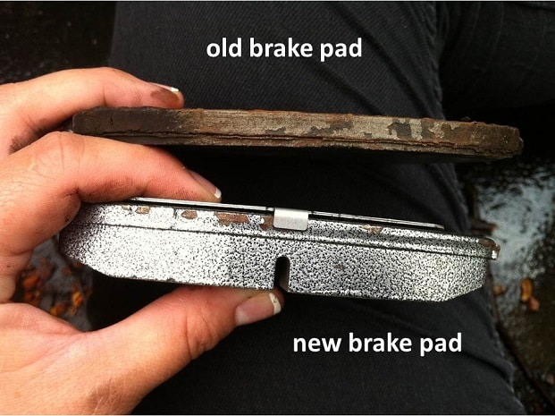 replace brake pads